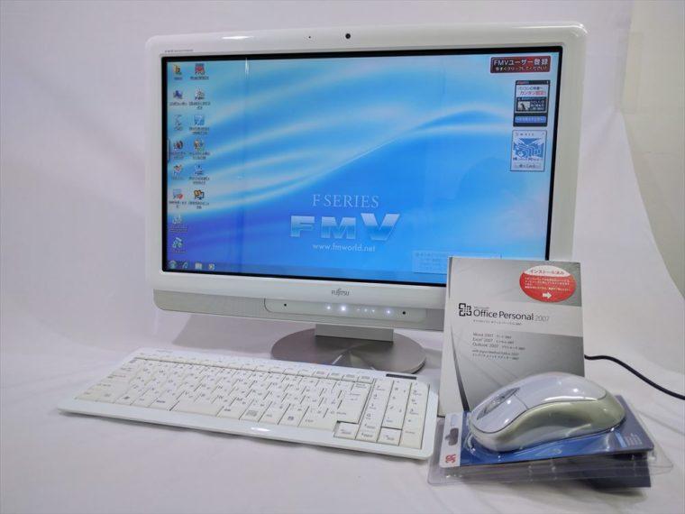 FMV-DESKPOWER F/E70T FMVFE70TW(中古液晶一体型デスクトップパソコン)写真
