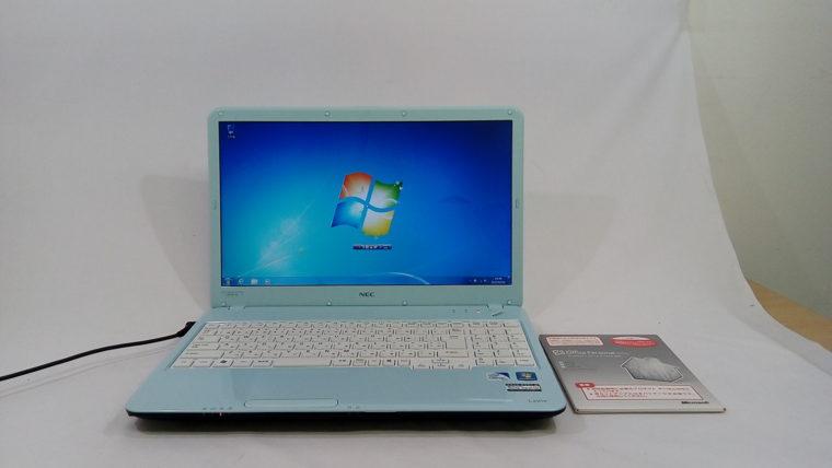 LaVie G タイプS GL20CN/5R PC-GL20CN5AR(中古ノートパソコン)写真
