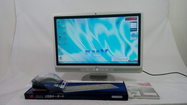 FMV-DESKPOWER F/G60 FMVFG60WZ(中古液晶一体型デスクトップパソコン)写真