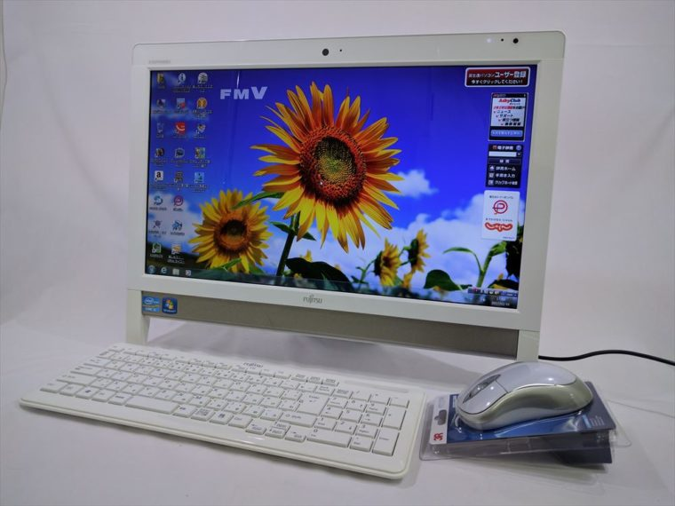 FMV ESPRIMO FH56/DD FMVF56DDWY(中古液晶一体型デスクトップパソコン)写真