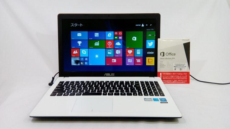 ASUS R512M(中古ノートパソコン)写真