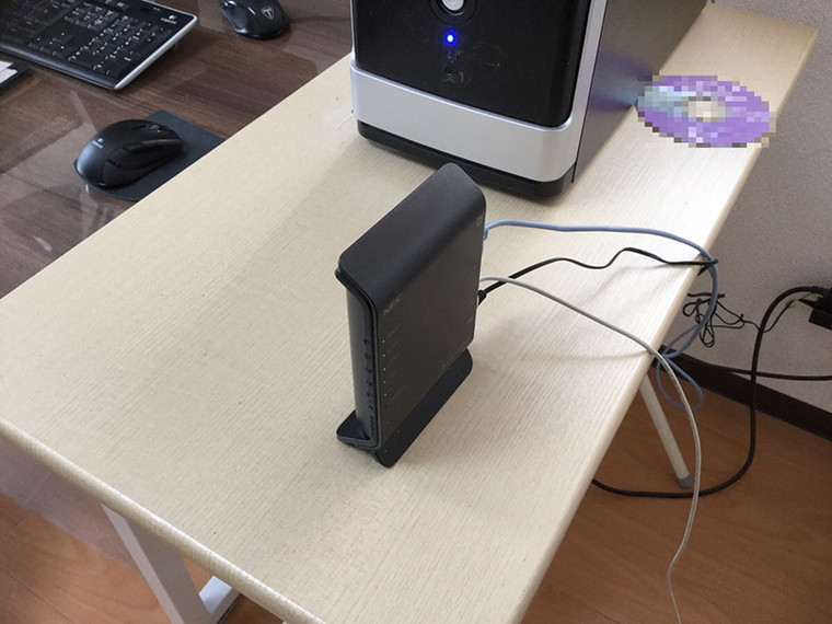 デスクトップパソコンがインターネットにつながらない/自作PC(BTO) Windows 10のイメージ