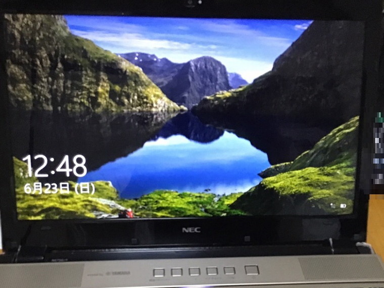 ノートパソコンの電源が入らない/NEC Windows 10のイメージ