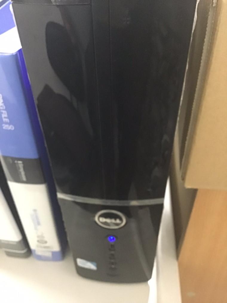 デスクトップパソコンの電源が切れる/DELL(デル) Windows XPのイメージ