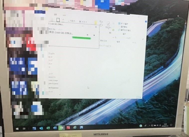 デスクトップパソコンが起動しない/三菱電機 Windowsのイメージ