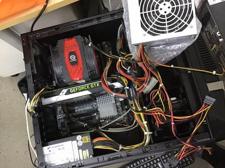 デスクトップパソコンの電源が入らない/マウスコンピューター Windows 7のイメージ