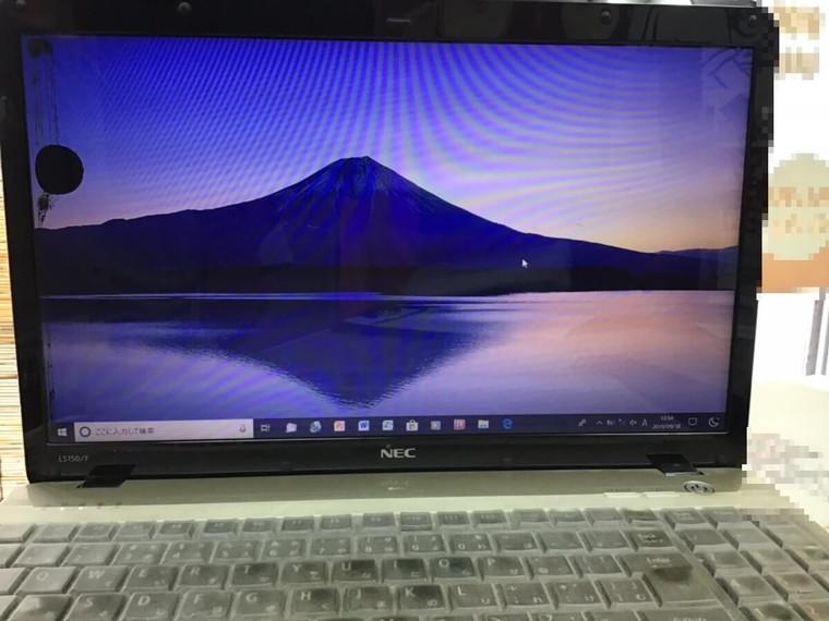 ノートパソコンが起動しない/NEC Windows 10のイメージ