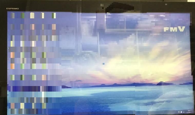 デスクトップパソコンが起動しない/富士通 Windows 8.1/8のイメージ