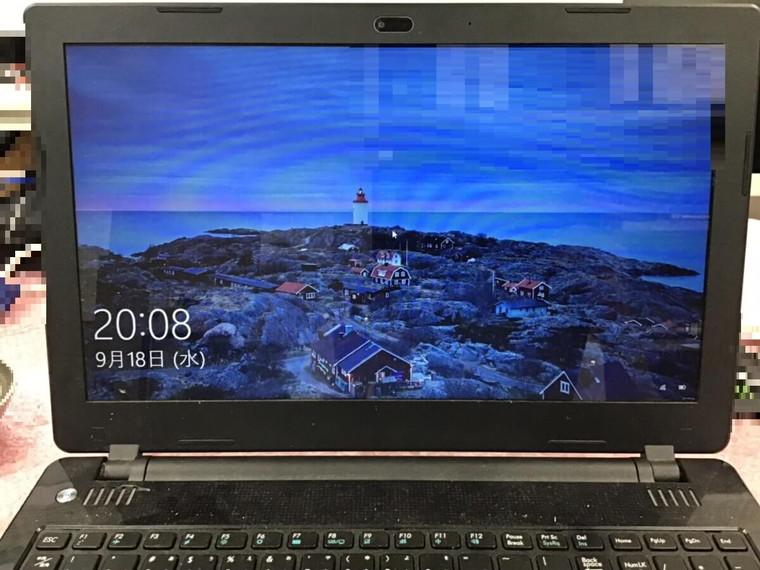 ノートパソコンが起動しない/ドスパラ Windows 10のイメージ