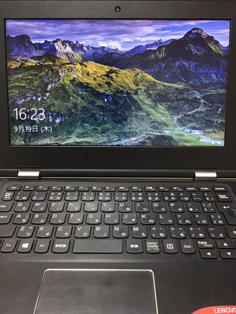 ノートパソコンが起動できない/レノボ Windows 10のイメージ