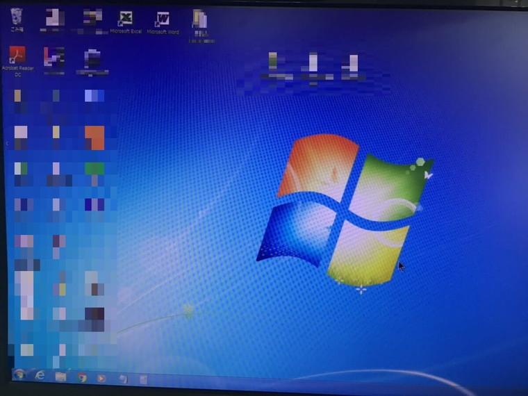 パソコンが起動しない/自作PC(BTO) Windows 7のイメージ