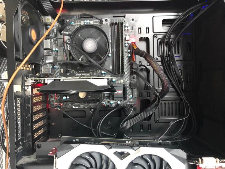 パソコンのモニターが映らない/自作PC(BTO) Windows 10のイメージ