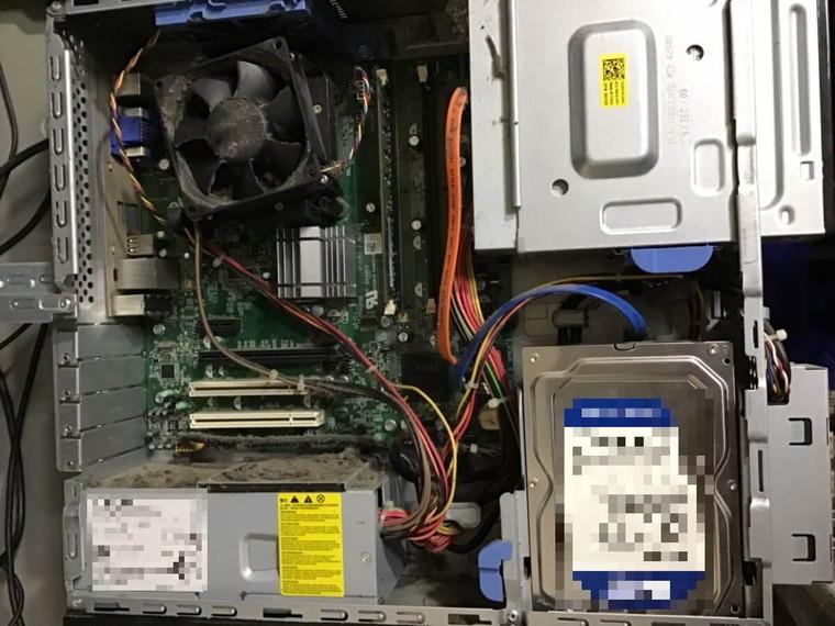 デスクトップパソコンの電源が入らない/DELL(デル) Windows XPのイメージ