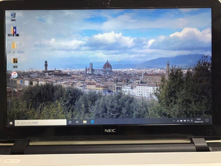 ノートパソコンがウイルスに感染した/NEC Windows 10のイメージ