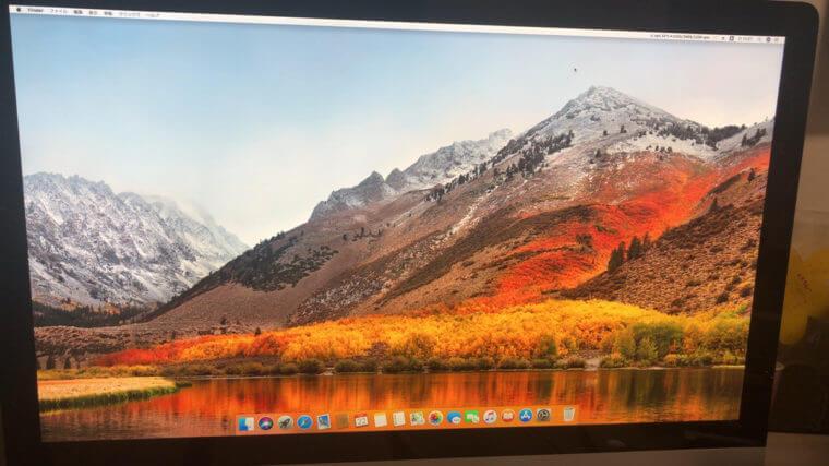 デスクトップパソコンが起動しない/Apple macOS Sierraのイメージ