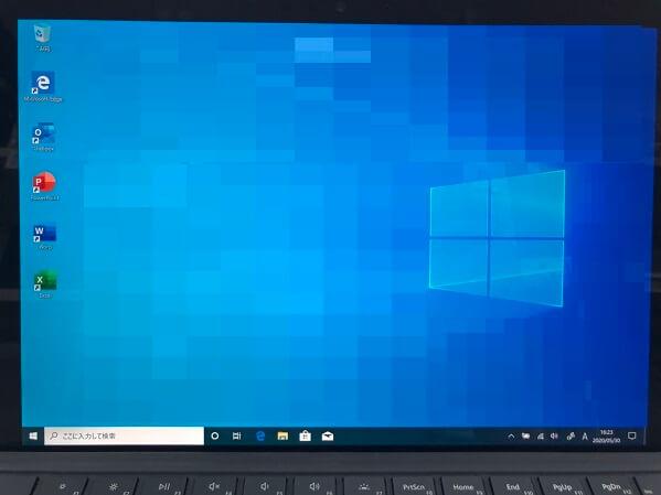 ノートパソコンが起動しない/マイクロソフト Windows 10のイメージ