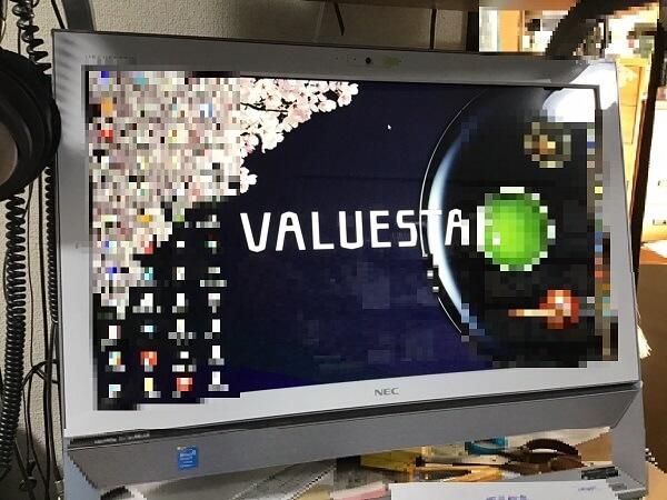 デスクトップパソコンが起動しない/NEC Windows 8.1/8のイメージ