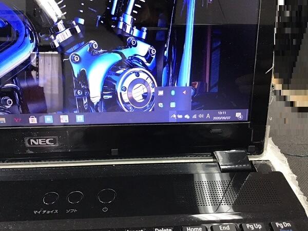 ノートパソコンから音がでない/NEC Windows 10のイメージ