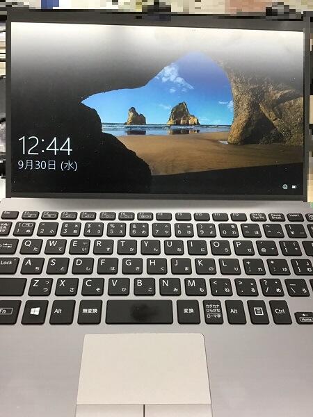 ノートパソコンが起動しない/ソニー(VAIO) Windows 10のイメージ
