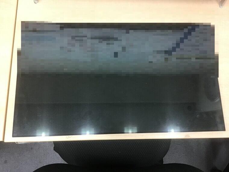 デスクトップパソコンの液晶が割れた/富士通 Windows 10のイメージ