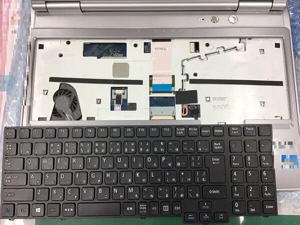 ノートパソコンのキーボードが反応しない/NEC Windows 10のイメージ