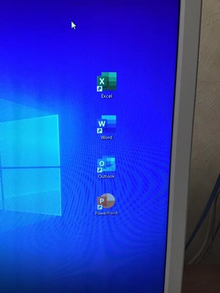 デスクトップパソコンのMicrosoft Officeが使用できない/NEC Windows 10のイメージ